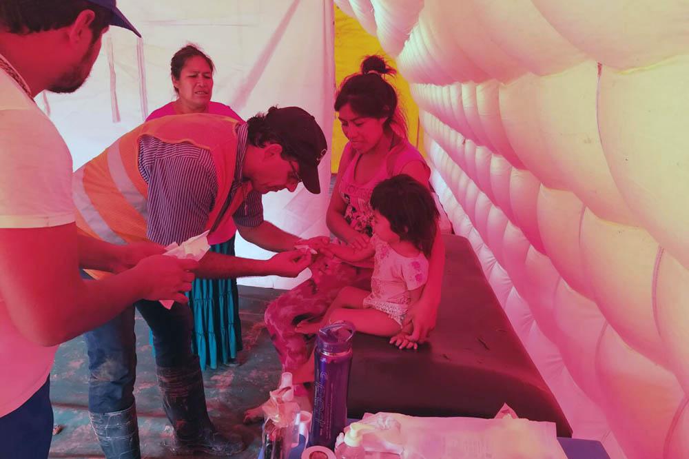 Continúa la asistencia sanitaria intensificada en Santa Victoria Este