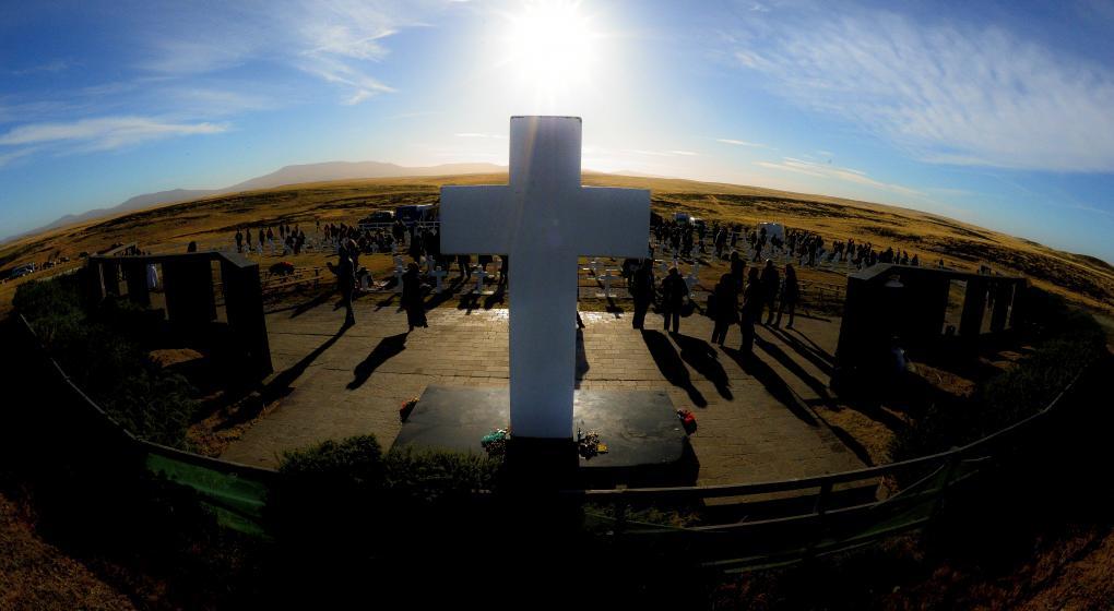 Momento único en Malvinas: el día en que las familias volvieron a unirse