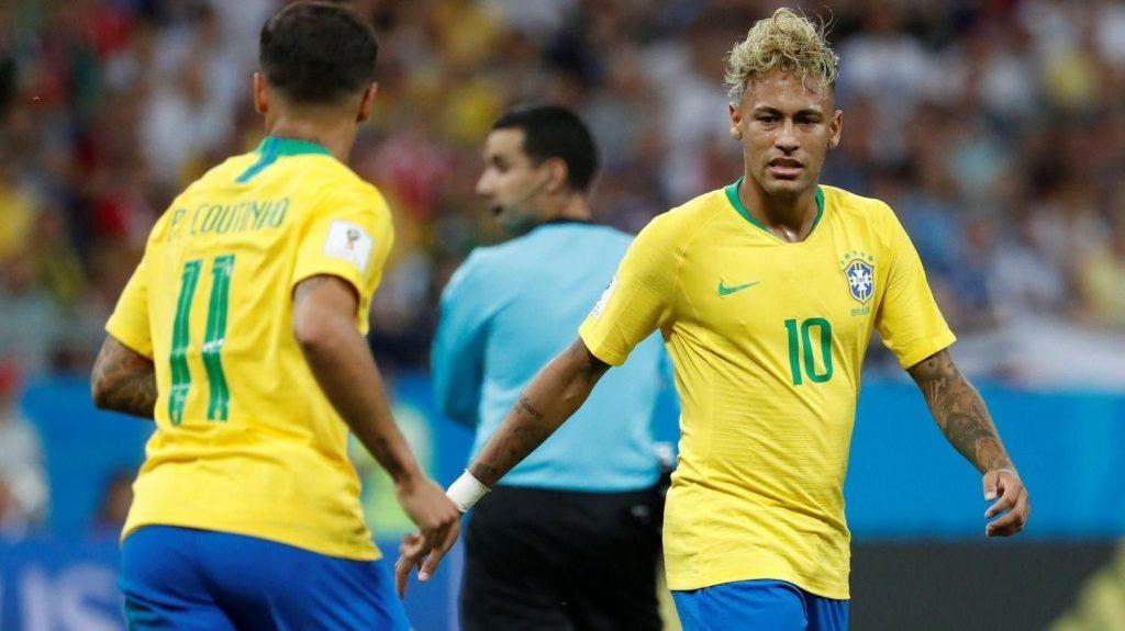 Brasil no pudo con Suiza y empató 1-1 en su debut