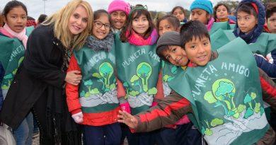 Por primera vez en Salta, cientos de niños realizaron su Promesa Ambiental