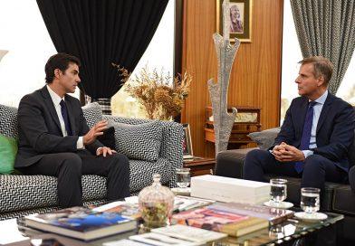 Urtubey se reunió con el economista Martín Redrado