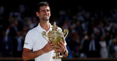 Novak Djokovic levantó su cuarto trofeo en el césped de Wimbledon