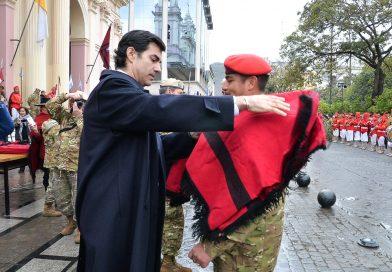 Salteños saludaron a los soldados que conformarán la misión de Paz de Naciones Unidas en Chipre