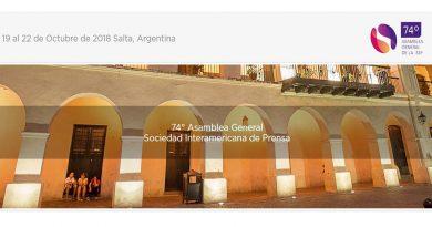 Salta será sede de la asamblea anual de la Sociedad Interamericana de Prensa