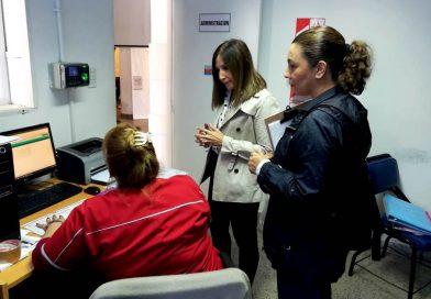 Supervisan la entrega de turnos protegidos en los Centros de Salud
