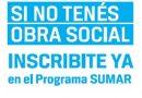 Continúan inscribiendo en Sumar a personas sin cobertura social