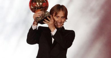 Video: Luka Modric se alzó con el Balón de Oro 2018