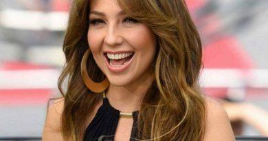 Las imagenes de Thalía a cara lavada que se filtraron
