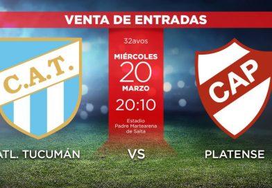 Salta está lista para recibir a Platense y Atlético Tucumán