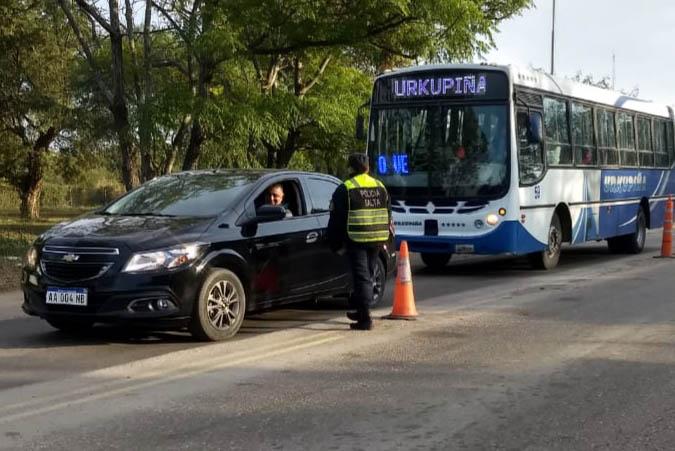 Seguridad Vial controló más de 10.700 vehículos durante el fin de semana