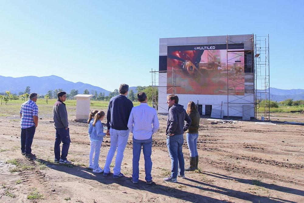Se podrá disfrutar de espectáculos audiovisuales en el Parque del Bicentenario