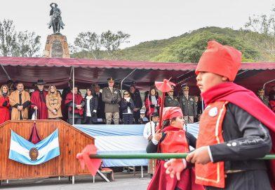 El pueblo de Salta rindió homenaje al general Güemes, héroe nacional
