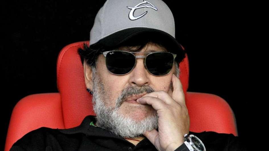 Diego show: sigue la fiebre por Maradona