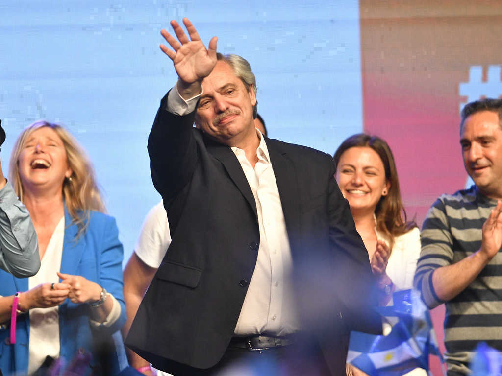 Alberto Fernández ganó en primera vuelta y será el nuevo presidente