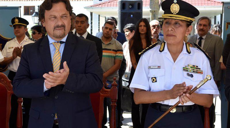 Sáenz puso en funciones a la primera Jefa de Policía en la historia de Salta