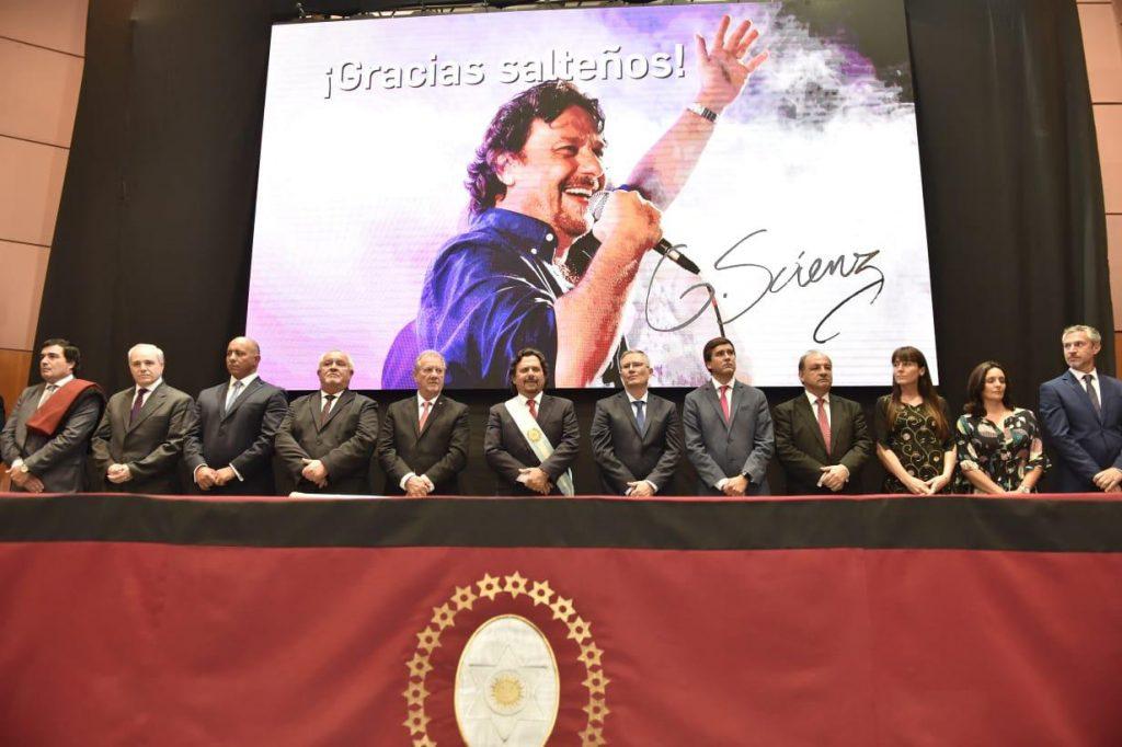 El gobernador Gustavo Sáenz tomó juramento al nuevo gabinete de ministros