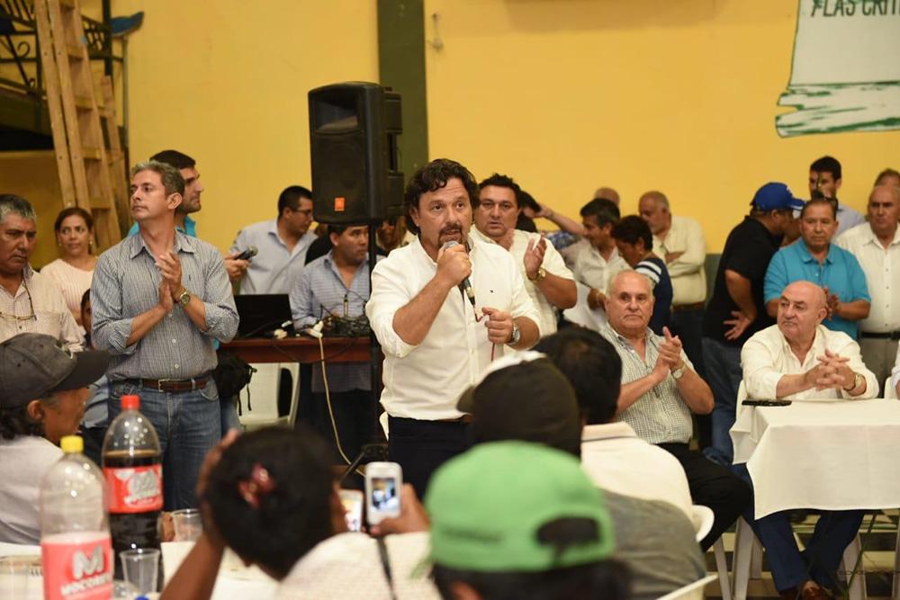 El gobernador Sáenz se reunió con miembros de las comunidades originarias de los departamentos Orán, San Martín y Rivadavia