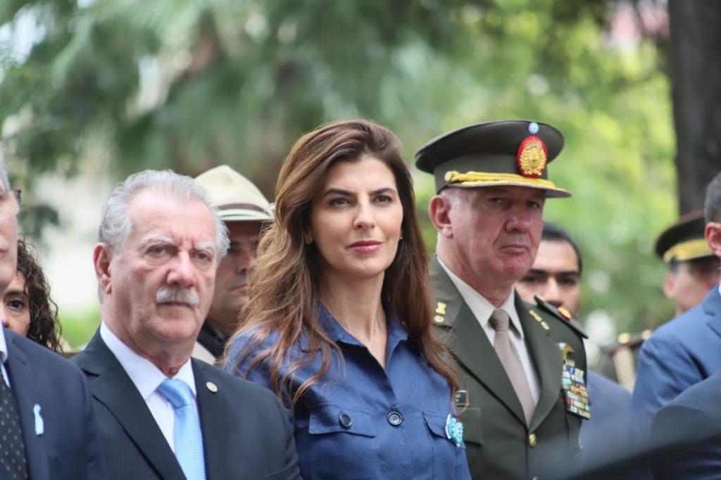 La intendenta participó del acto por los 207 años de la Batalla de Salta