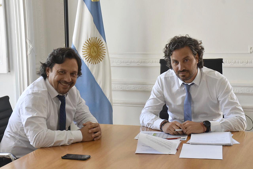 El gobernador Sáenz solicitó en Nación el acompañamiento en la búsqueda de Justicia por Santino