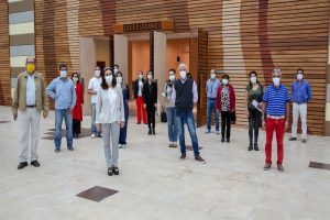Tramo final de adecuación del Centro de Referencia COVID-19 de Limache